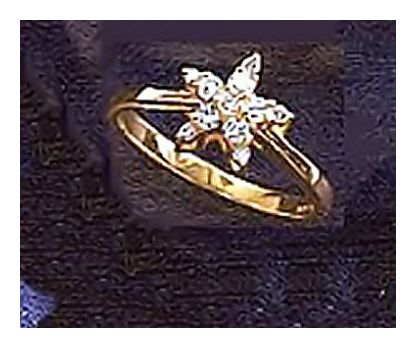 14k Manhattan Starlight Diamond Ring
