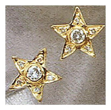 14k Diamond Starlet Earrings (.46ct)