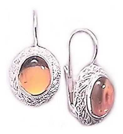 Amber Twilight Earrings
