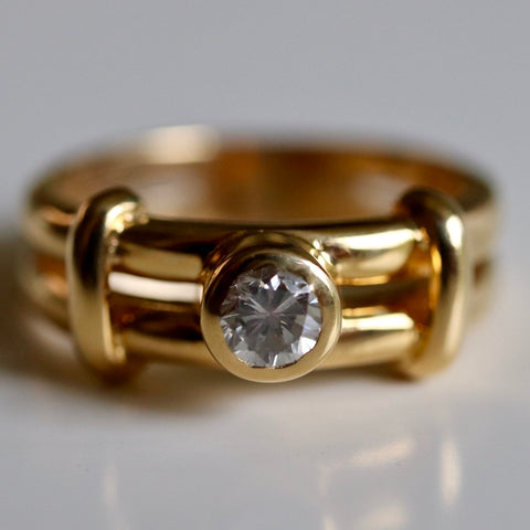 14k Parsifal Diamond Ring