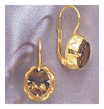 Lady Jane Topaz Earrings