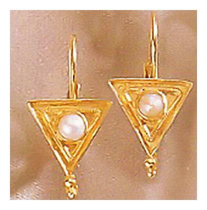 Marc Antony Byzantine Pearl Earrings
