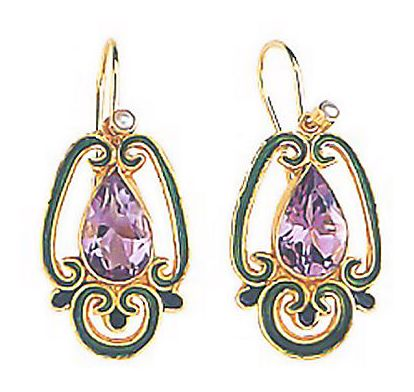Sylvan Amethyst Earrings