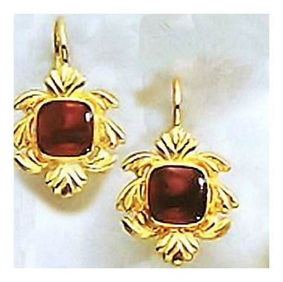 Lancaster Carnelian Earrings