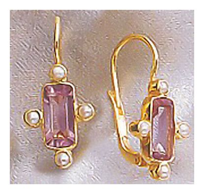 Duchess of Beaufort Amethyst Earrings