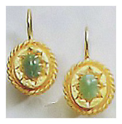 Star Of India Emerald Earrings
