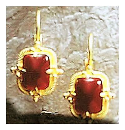 Juno Carnelian Earrings