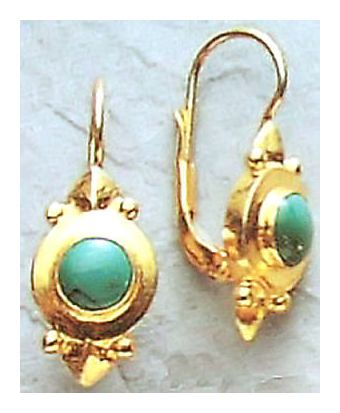 Adriatic Turquoise Earrings