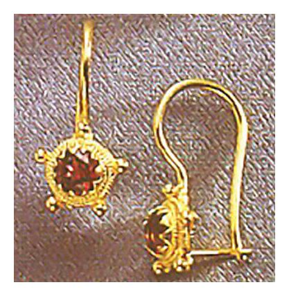 Persephone Garnet Earrings