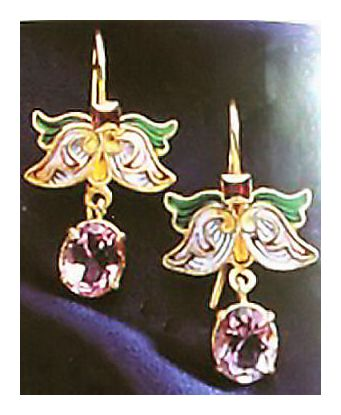 Irina Amethyst Earrings