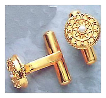 Apollo Pearl Cufflinks