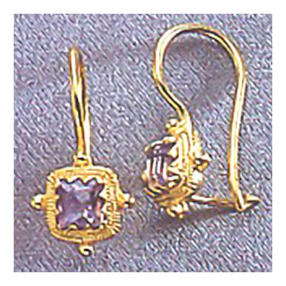 Thessaly Amethyst Earrings