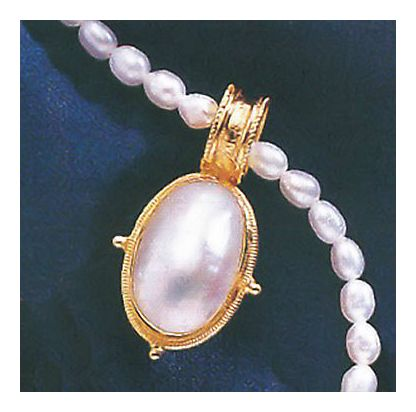 Empress Mother of Pearl Necklace