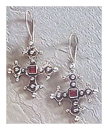 Coronado Cross Earrings