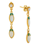 Coober Pedy Opal Earrings