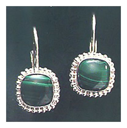 Madeline Malachite Earrings