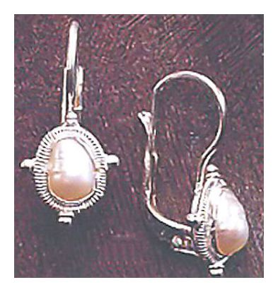 Lago Di Garda Pearl Earrings
