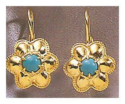 Trudy Truelove Turquoise Earrings