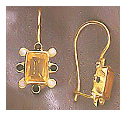 Lucette Citrine Earrings