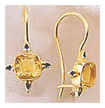 Benares Citrine Earrings