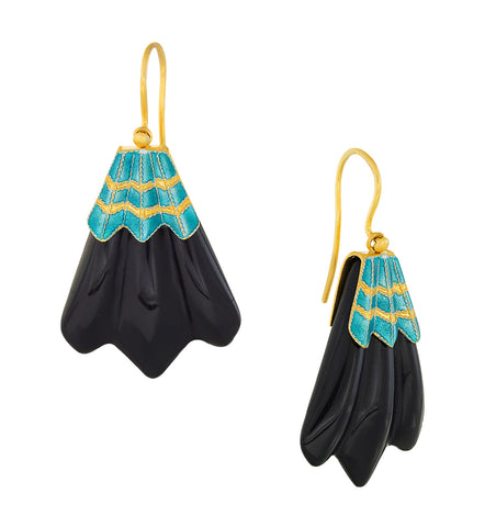 Vintage Shashi Hôtel Tassel Earrings