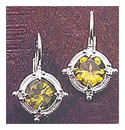 Phillippa Peridot Earrings