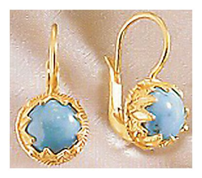 Trieste Turquoise Earrings