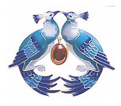 Birds Of Paradise Pin