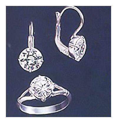 Set Of Riviera Earrings and Ring