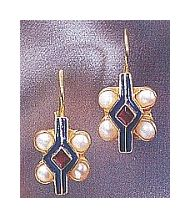Red, White, & Blue Earrings