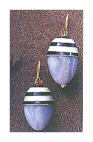 Boulevard Jolie Earrings-Screw Backs