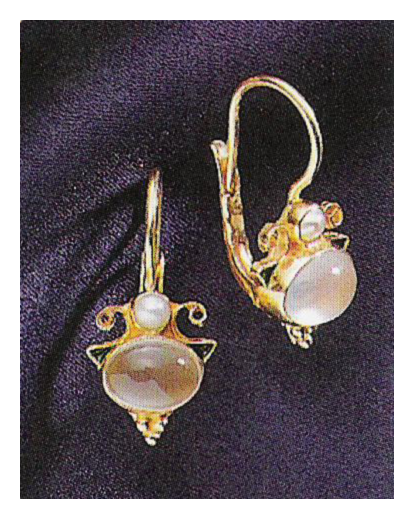 Grand Canal Moonstone Earrings