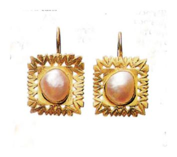 Pearl Gallery Earrings