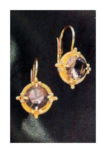 Sicily Smoky Topaz Earrings