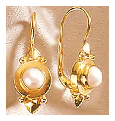 Adriatic Pearl Earrings