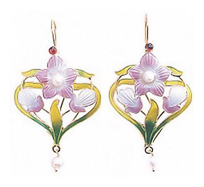 Meadow Flower Earrings-Screw Backs