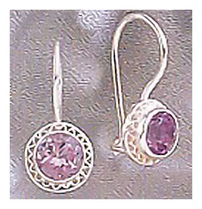 Regina Amethyst Earrings