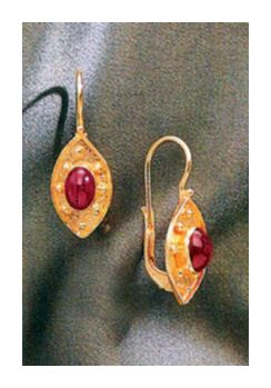 Ravenna Ruby Earrings