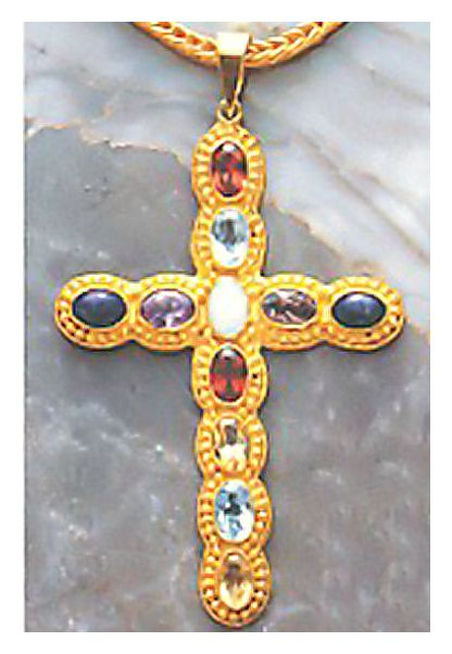 St. Petersburg Cross Necklace
