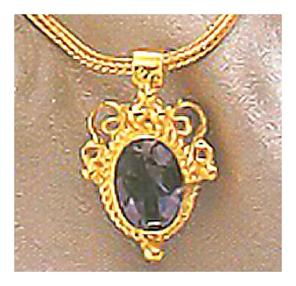 Lady Chatterly Iolite Necklace
