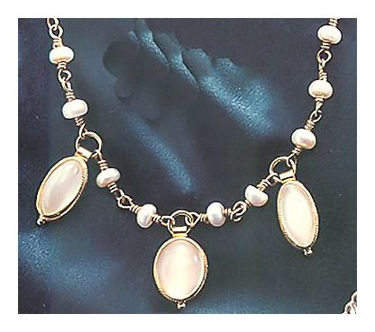 Voyager Moonstone Necklace