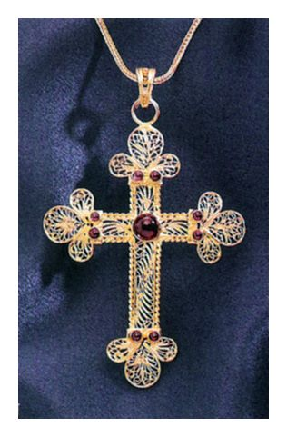 Moscova Cross Necklace