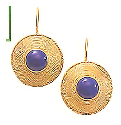 Ceylon Lapis Earrings