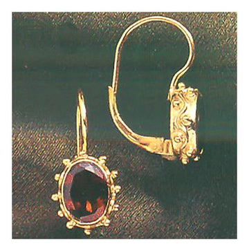 Jane Eyre Garnet Earrings