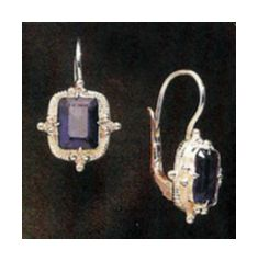 Augusta Iolite Earrings