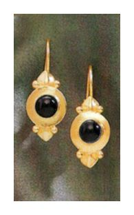 Ostia Onyx Earrings