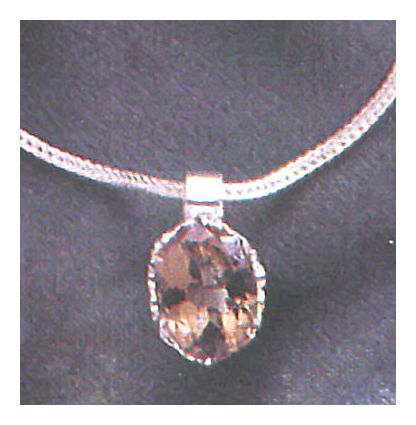 Geraldine Smoky Topaz Necklace
