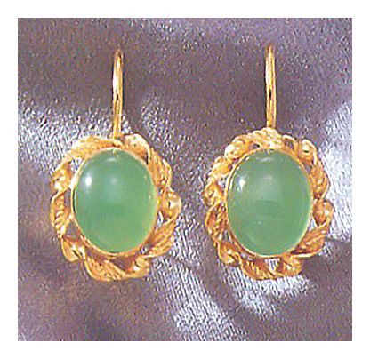 Aladdin Chrysoprase Earrings