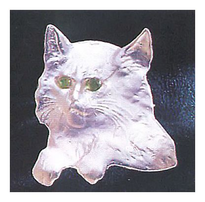 Silver Cat Pin