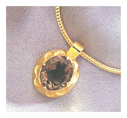 Lady Jane Smoky Topaz Necklace
